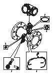 备品备件图片 Proline Prosonic Flow B 200 / 9B2B
